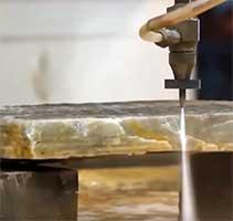 water cut stone